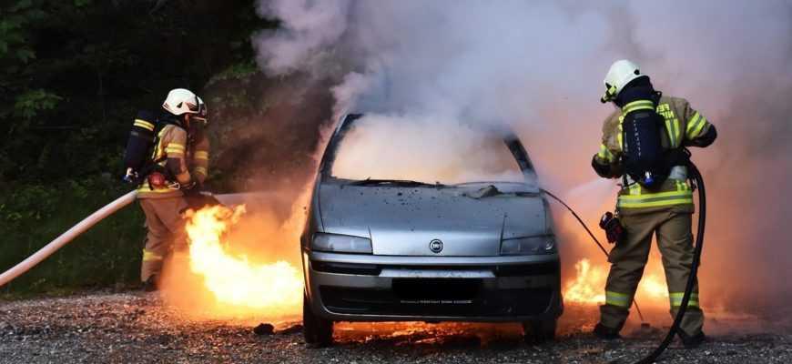 Ремонт авто после пожара