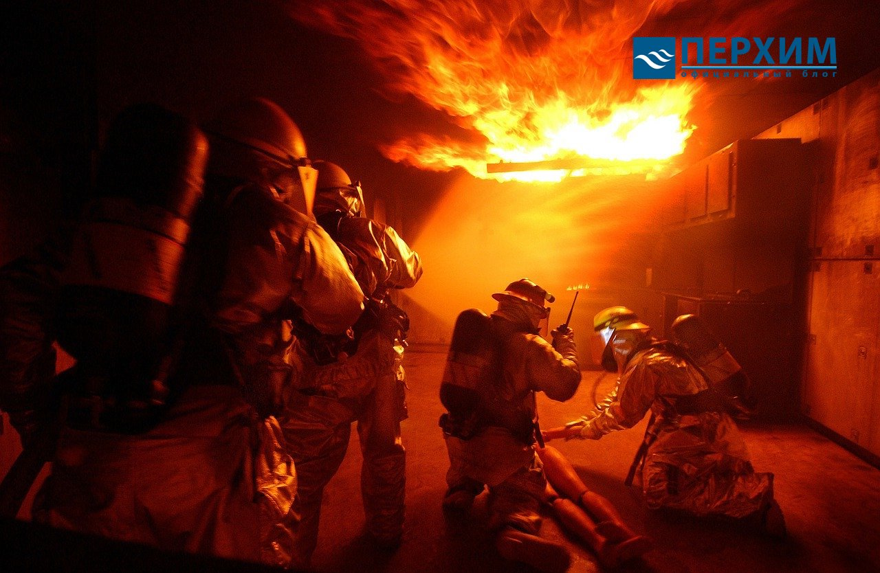 Ремонт бани после пожара