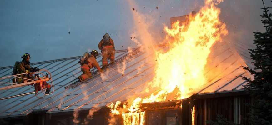 Как убрать после пожара: есть эффективные способы